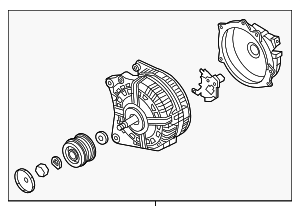 Alternator - Volkswagen (04E-903-024-T)