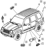 Switches for 2003 Jeep Liberty | Mopar One Online