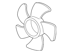 Fan, Cooling - Acura (19020-RWC-A01)