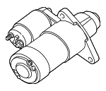 Starter - Ford (F4TZ-11002-ARM)