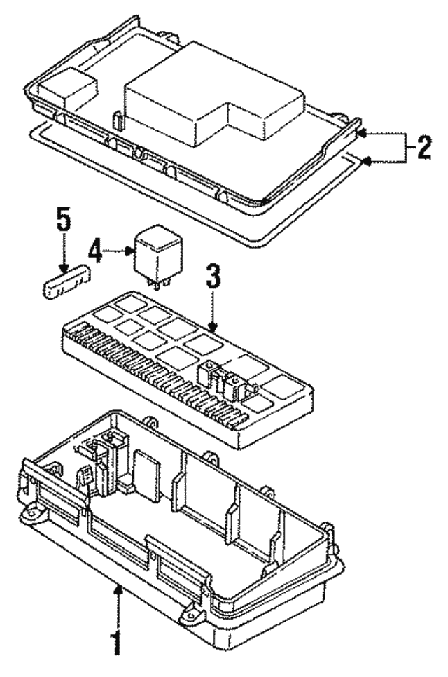 Fuse Relay Box Audi 443941822a: 1998 Audi Cabriolet Fuse Box Diagram At Hrqsolutions.co