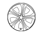 Wheel, Alloy - Nissan (40300-5SH3E)