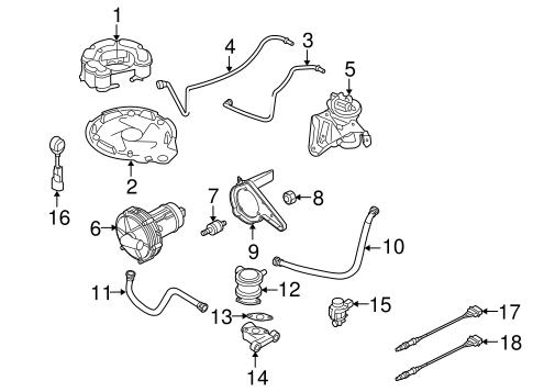 Volkswagen Leak Detect Pump 1k0906201d