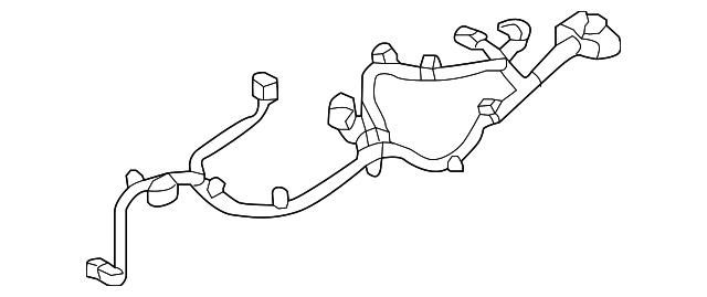 2015 kia k900 wire harness 84624