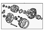Alternator Assembly (CSJ53) (Denso) - Honda (31100-RX0-A01)