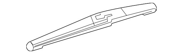 OEM NEW 2017-2020 GM Buick Chevrolet Rear Windshield Wiper Arm Blade 13464219