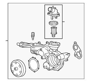 Water Pump Assembly - GM (12685257)