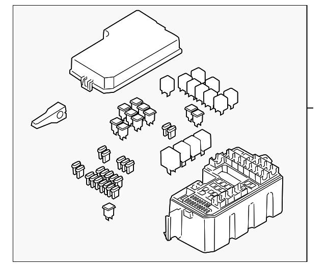 Mazda B3000 Fuse Box Diagram