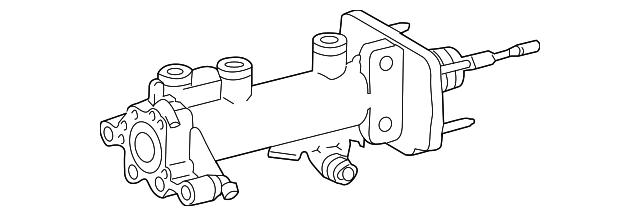 Toyota 47025-35112 Brake Master Cylinder