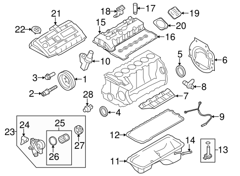 [DIAGRAM_38ZD]  Engine Parts for 2008 BMW 328i | getBMWparts | 2008 Bmw 328i Engine Diagram |  | getBMWparts