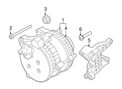 Alternator For 2018 Porsche Panamera