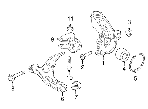 Suspension Components For 2018 Ford Transit Connect