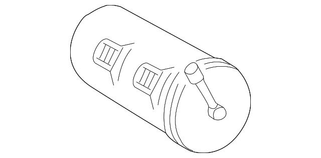 2005 chrysler crossfire vapor canister 5101594aa