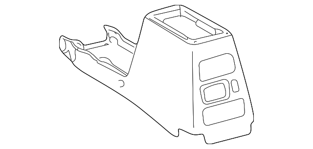 1999 2000 Toyota 4runner Panel 58911 35050 B0