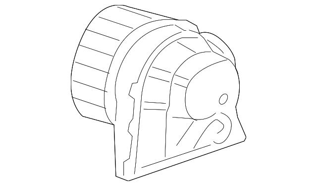 blower motor - porsche (996-624-107-01)