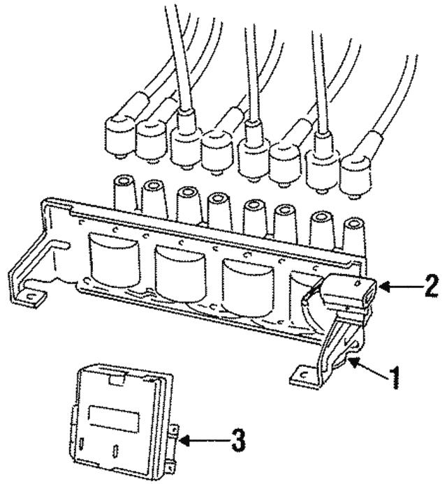 1995 1997 Land Rover Discovery Control Module Err6759