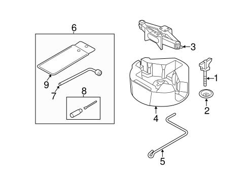 Jack Components For 2015 Subaru Xv Crosstrek Subaru Parts Store