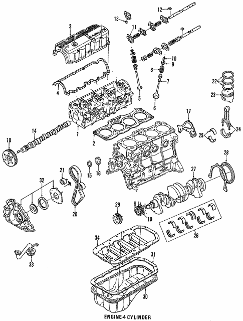 Engine Parts For 1989 Ford Probe Blue Springs Ford Parts