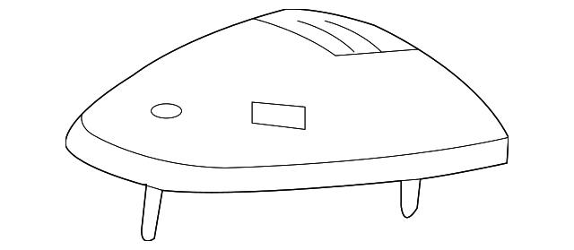 J Mopar 68261677AC Roof Marker Light-VIN