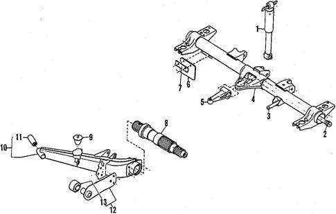Awe Inspiring Rear Axle For 1984 Subaru Brat Subaru Parts Depot Wiring Database Hyediarchgelartorg