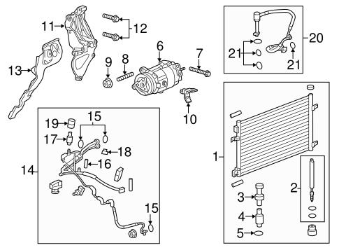 2013 chevrolet malibu engine diagram condenser  compressor   lines for 2013 chevrolet malibu gmpartonline  lines for 2013 chevrolet malibu