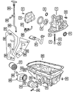 Oil Filter Connector - Mopar (4104511)