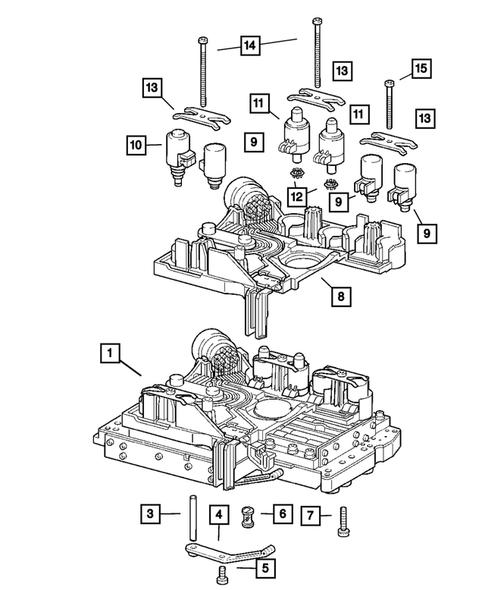 [SODI_2457]   Valve Body for 2005 Dodge Magnum   Thomas Dodge Parts   2005 Dodge Magnum Pump Engine Diagram      Thomas Dodge Parts