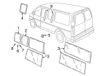 Rear Glass - GM (20906513)