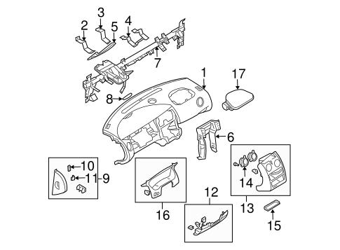 Instrument Panel For 2004 Dodge Stratus
