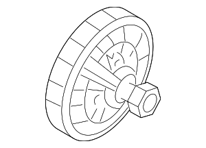 Fan Clutch - Ford (7C3Z-8A616-D)