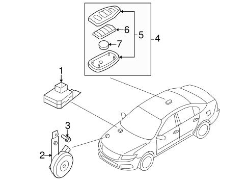 Vehicle Alarm System Diagram