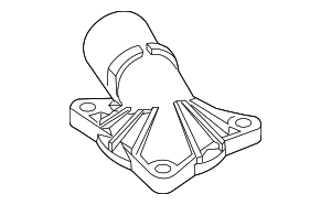Thermostat Housing - Ford (4L5Z-8592-AA)