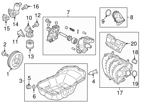 engine/engine parts for 2015 mazda 6 #1