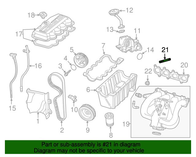 Ford Focu Engine Part Diagram
