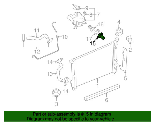 Thermostat Housing Gm 12591885 Gmpartsdirectrhgmpartsdirect: Buick Lucerne Thermostat Location At Gmaili.net
