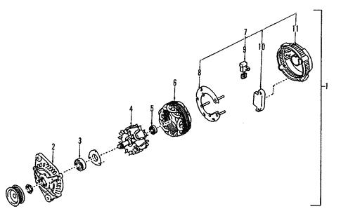 alternator for 1999 infiniti i30 #0