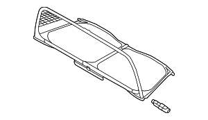 Air Deflector - Volkswagen (5C3-862-951-D)