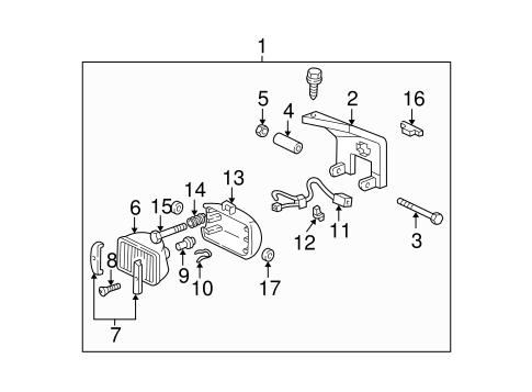 Gm Connector Retainer 19130464