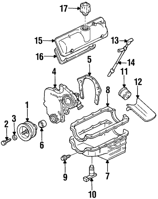 1996 Chevy Lumina Suspension Diagram