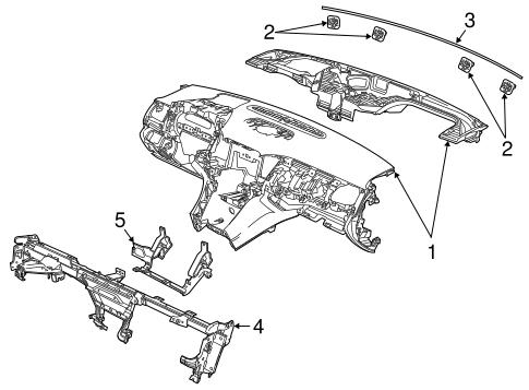 Instrument Panel For 2014 Chevrolet Ss