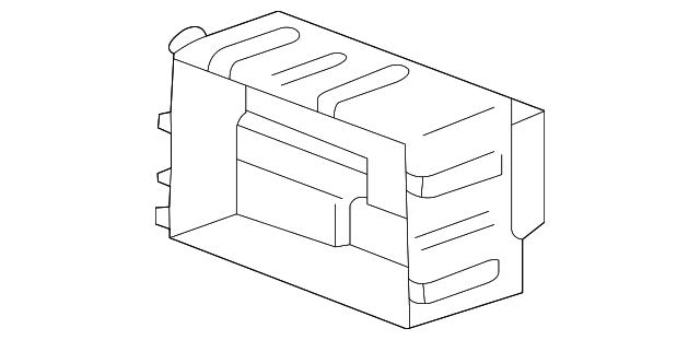 oem gm fuse  u0026 relay junction box 00