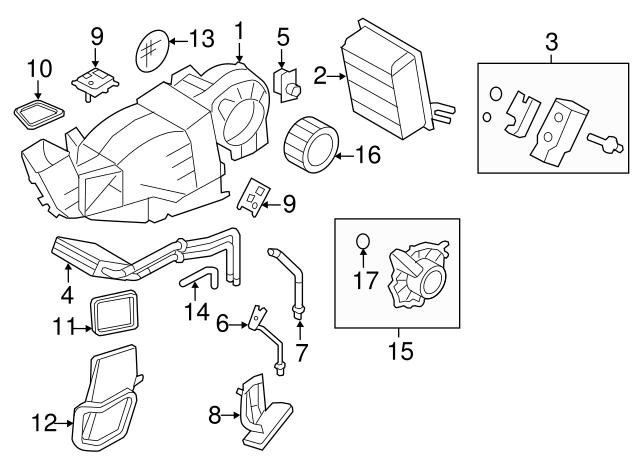Genuine Ford Actuator 1L2Z-19E616-AA