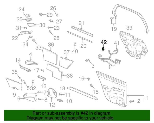 wire harness drawing wire harness clip gm  12482522  gmpartsdirect com  wire harness clip gm  12482522