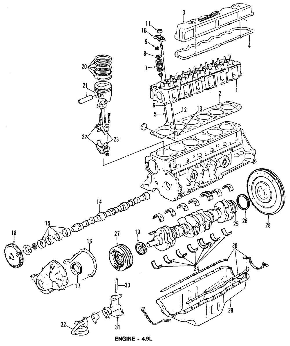 Genuine Ford Engine Valve Stem Oil Seal F2TZ-6571-A   eBay