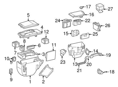 Electrical components for 1999 mercedes benz slk 230 for Mercedes benz slk230 parts