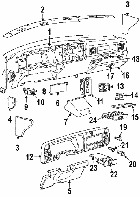 Controls For 1997 Dodge Ram 2500