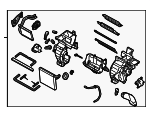 Heater Assembly - Kia (97205-1M041)