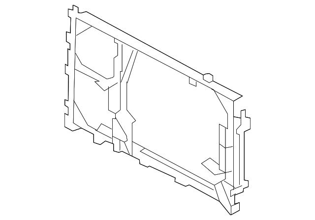 condenser mount bracket