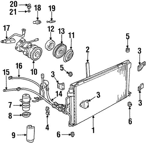 Condenser Compressor And Lines Scat