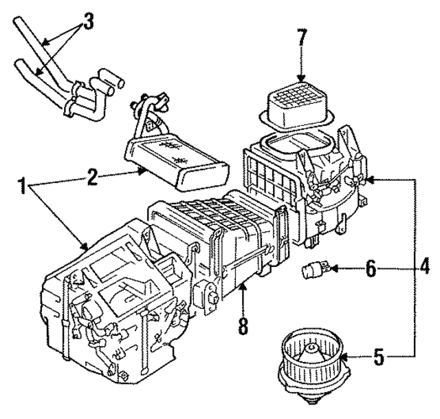 Fuel Filter For Ga Blower